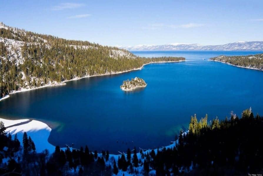 Tahoe Gölü Kaliforniya