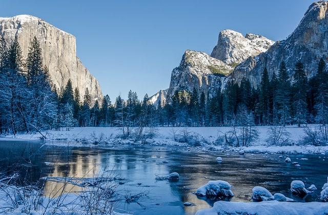Yosemite Ulusal Parkı Kaliforniya