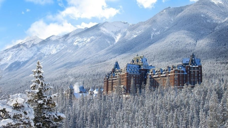 The Banff Springs Hotel Alberta Kanada