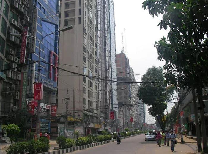 Kemal Ataturk Avenue(cadde) - Dhaka, Bangladeş