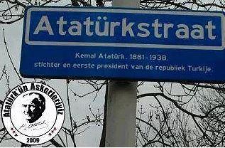 Atatürkstraat - Rotterdam, Hollanda Atatürk