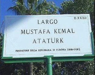 Largo Mustafa Kemal Atatürk - Roma, İtalya