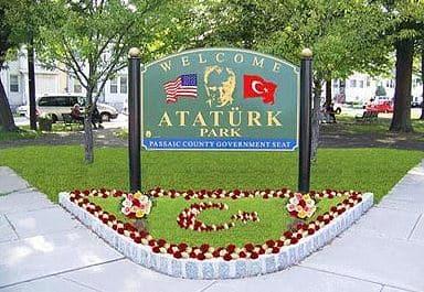 Atatürk Park - New Jersey, ABD