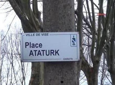 Place Ataturk - Vise, Belçika
