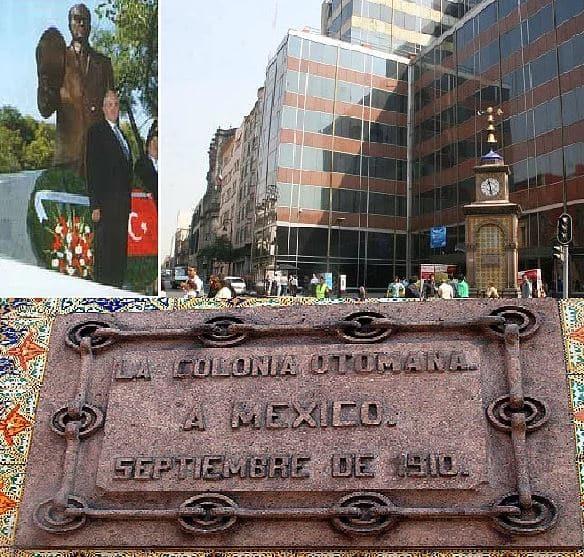 Atatürk Statue(heykel) - Mexico City, Meksika