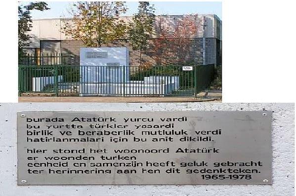 Atatürk Anıtı - Amsterdam, Hollanda