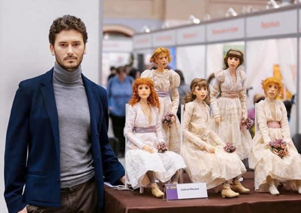 Rus Zanaatkar Michael Zajkov'un El Yapımı Taş Bebekleri