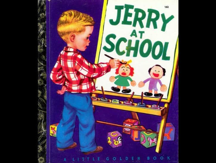 ozel-cocuk-jerry-at-school-kitap