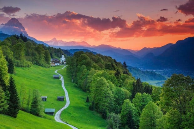 Garmisch-Partenkirchen-Almanya-Bavyera-Dünyanın-En-Güzel-Yeri