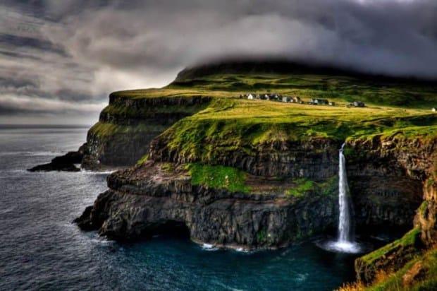 gasadalur köyü faroe adaları dünyanın en güzel yerleri