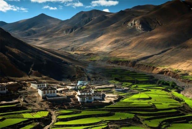 tibet himalaya dünyanın en güzel yerleri