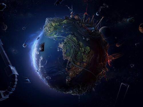 fotomontaje,design,earth,illustration,space,dark-d00639a26e80984bbd782f63a3cd3f85_h