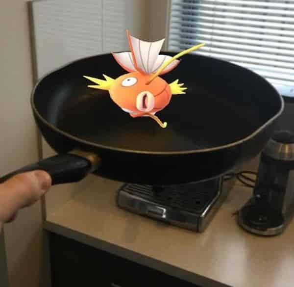 Pokemon GO'dan En Komik Görseller