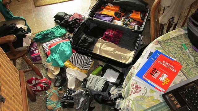 Tatile Gİderken Bavul HAzırlama