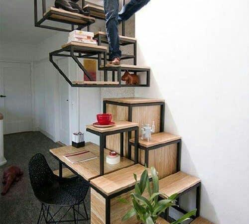 Kredi Çekip Ev Yenileme İsteği Uyandıran En Güzel Merdiven Tasarımları