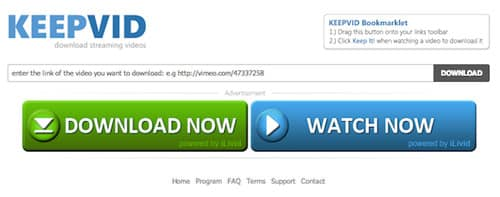 KeepVid-video-indirme-sitesi