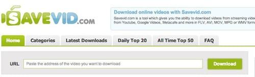 SaveVid-online-video-indirme-sitesi