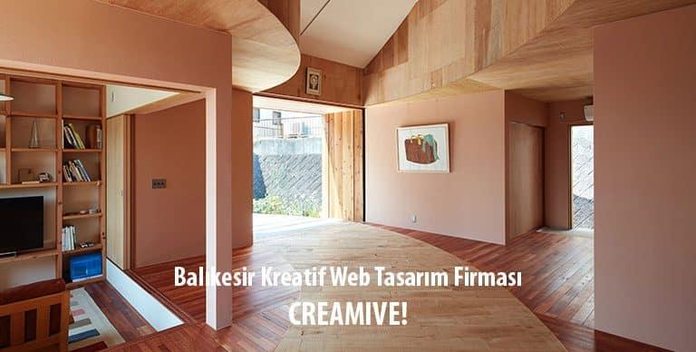 Balıkesir Kreatif Web Tasarım Firması CREAMIVE!