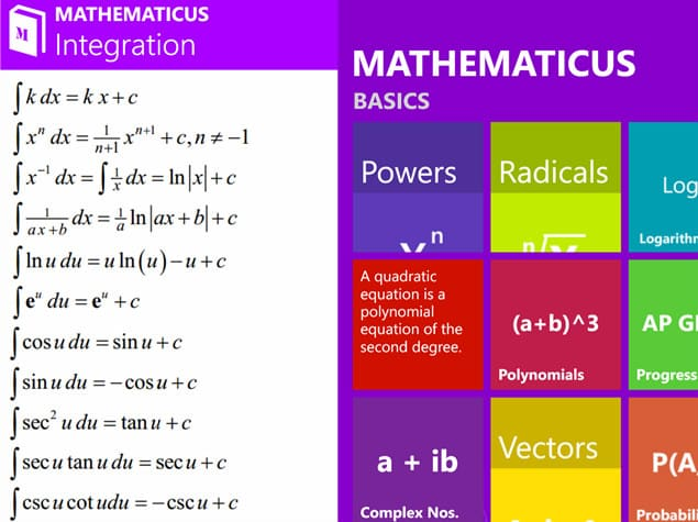 mathematicus-windows-phone-uygulaması