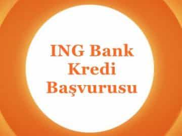 ING Kredi Başvurusu