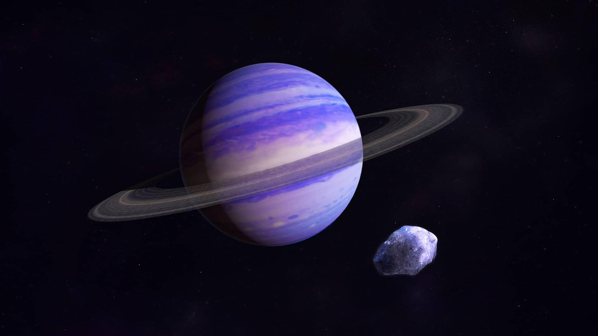 Neptün: Süpersonik Rüzgarların Hakim Olduğu Buz Devi