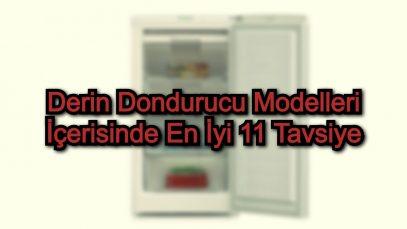 Derin Dondurucu Modelleri İçerisinde En İyi 11 Tavsiye