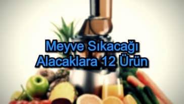 En İyi Katı Meyve Sıkacağı – 2020 – Meyve Sıkacağı Alacaklara 12 Ürün