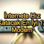 İnternete Hız Katacak En İyi 13 Modem