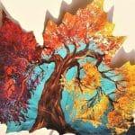 Yaprak Boyama Nedir? Yaprak Sanatı