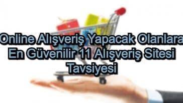 En İyi Alışveriş Siteleri – 2020 – Online Alışveriş Yapacak Olanlara 11 Alışveriş Sitesi