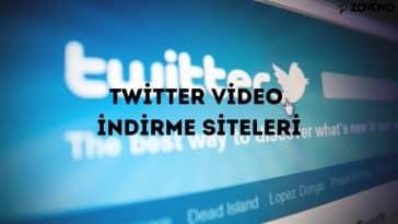 Twitter Video İndirme Siteleri – Twitter Videoları Nasıl İndirilir?
