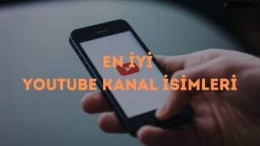 En İyi YouTube Kanal İsimleri